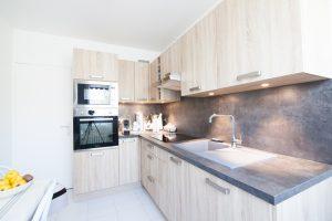 Travaux rénovation appartement - La cuisine après