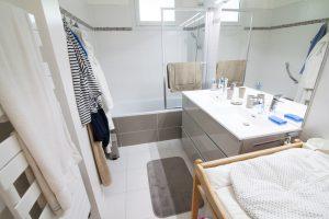 Travaux rénovation appartement - La salle de bain après