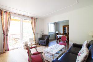 Travaux rénovation appartement - Le séjour après