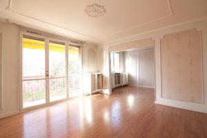 Travaux rénovation appartement - Le séjour avant