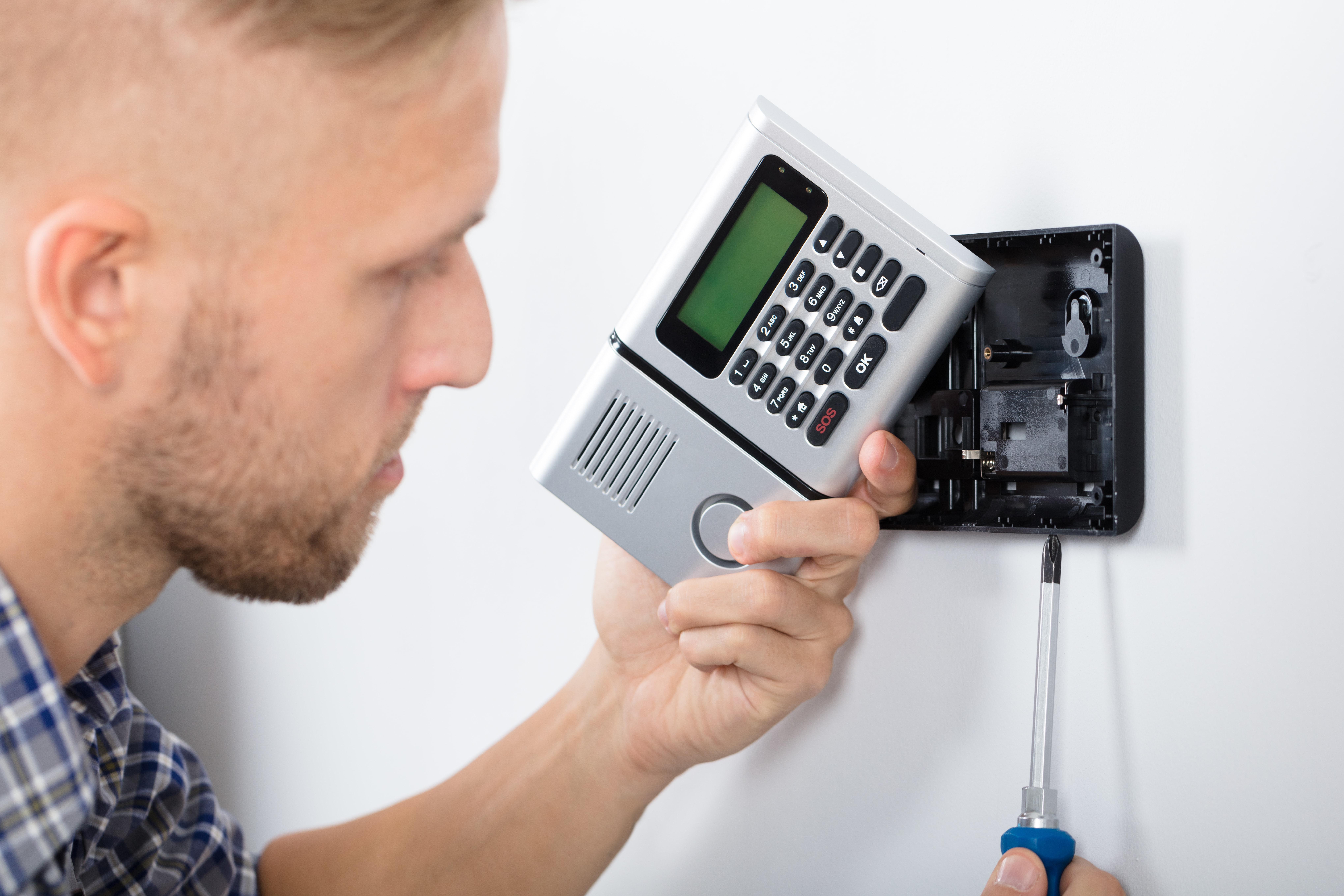réparation système alarme