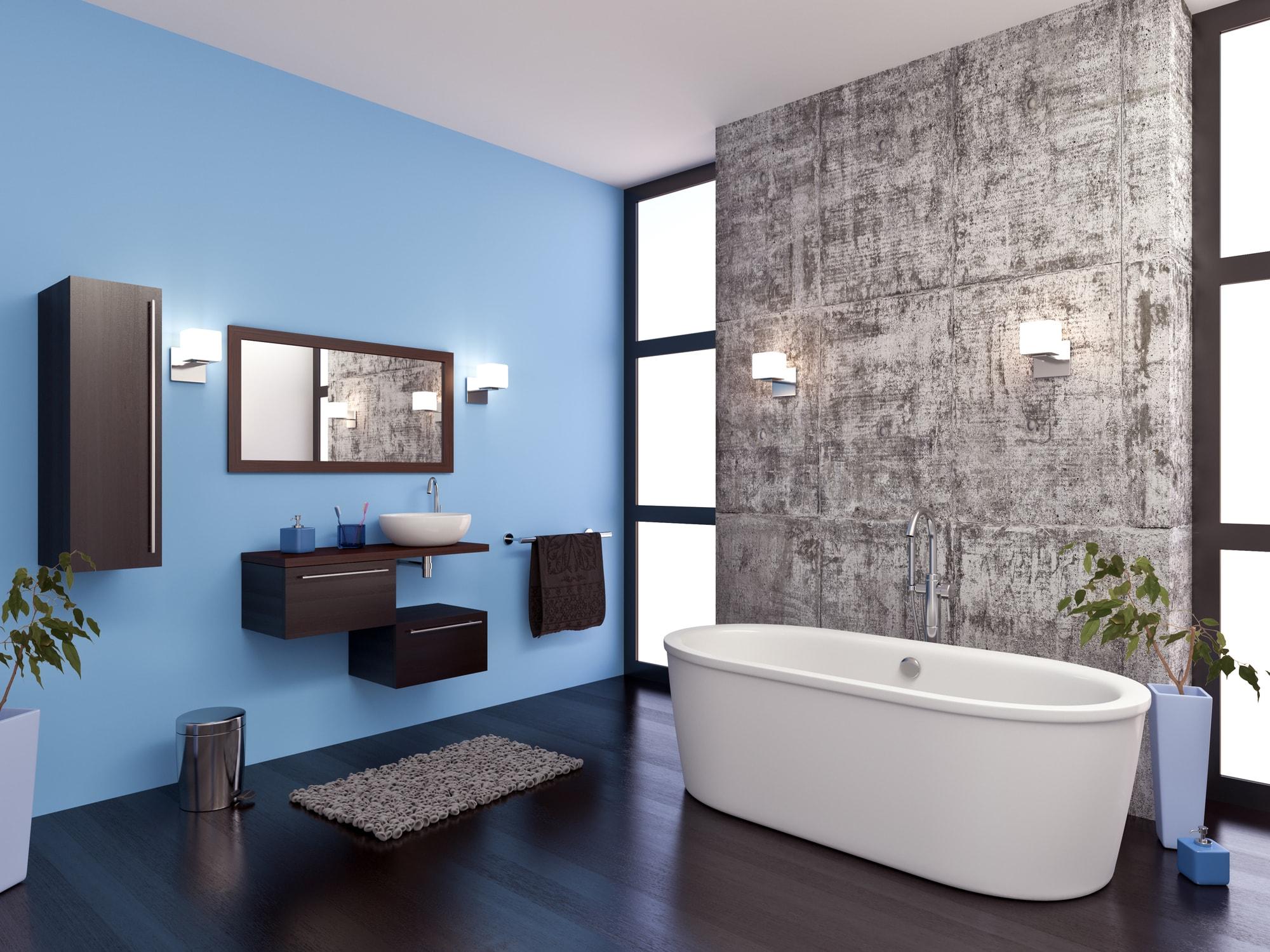 Peinture de salle de bains