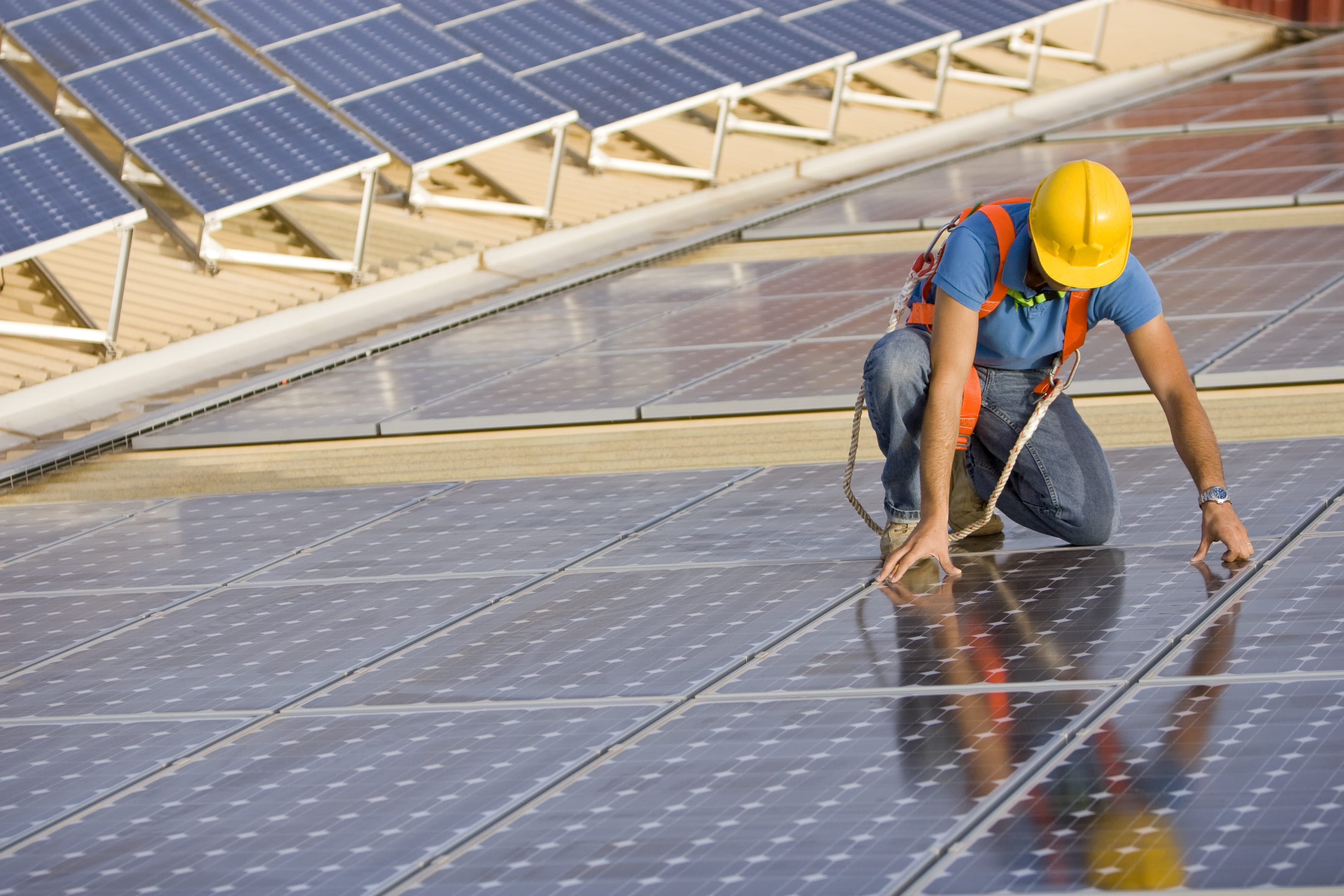 Réparation panneau solaire