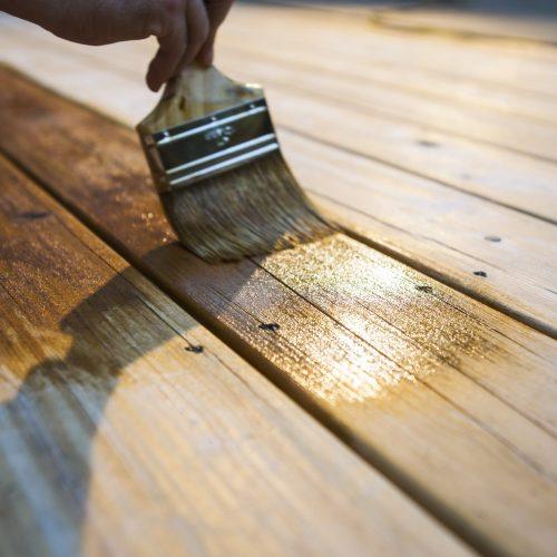 peindre meuble en bois