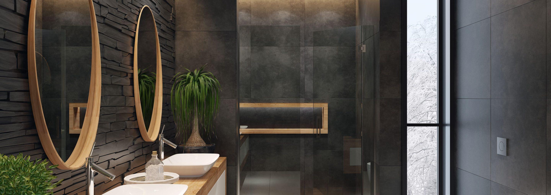 Salle De Bain Revetement salle de bain moderne : quel revêtement choisir ? - iziedf