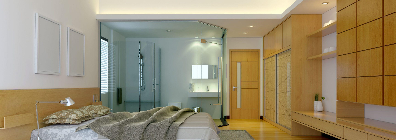 Chambre Ouverte Salle De Bain suite parentale : la salle de bain ouverte sur la chambre