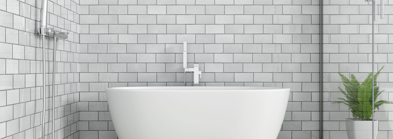 Recouvrir Carrelage En Relief salle de bain en carrelage : comment agrandir sa pièce