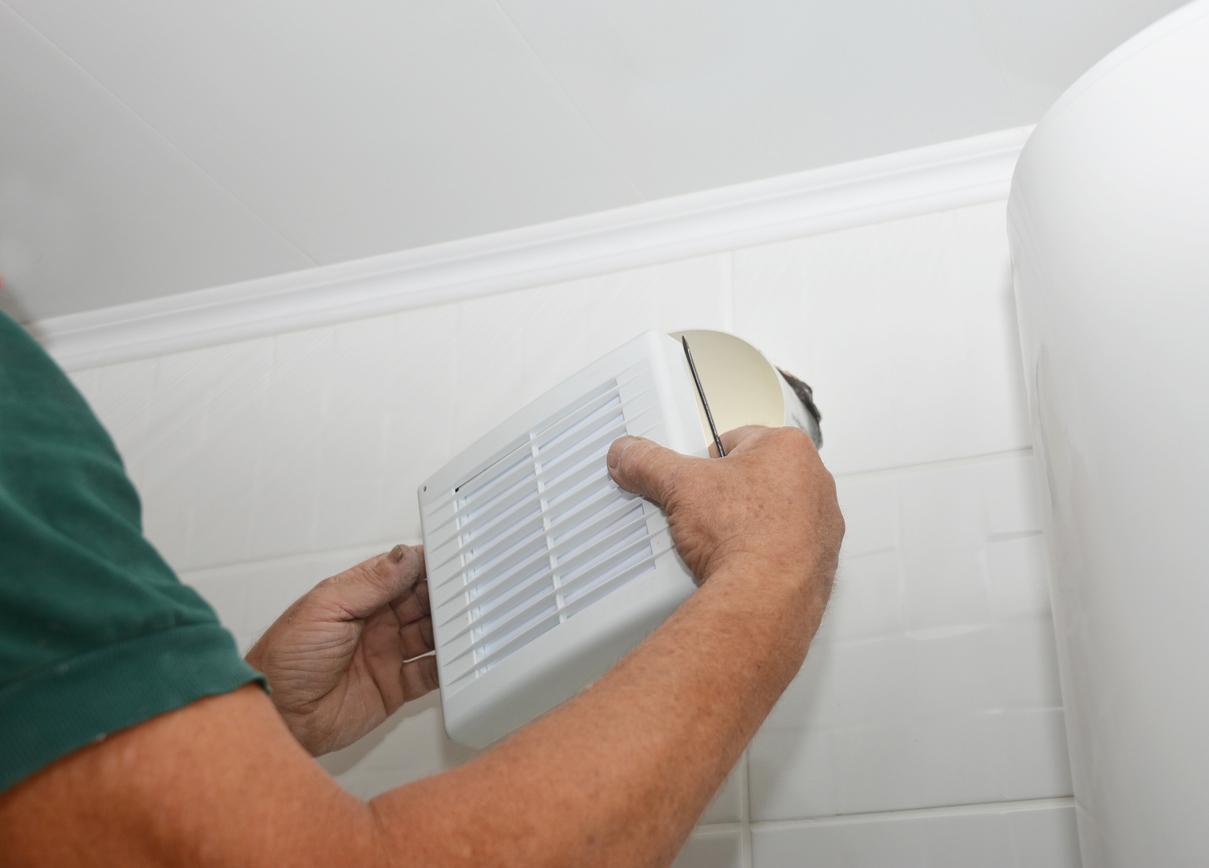 Système,de ventilation à installer dans une salle de bains