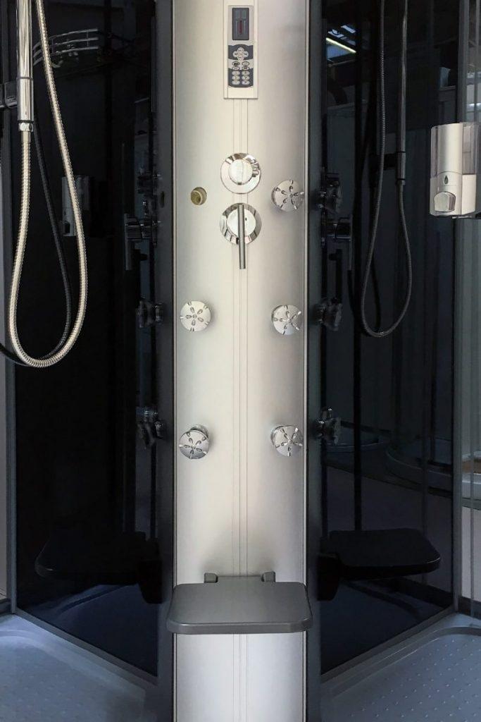 cabine de douche jets massants
