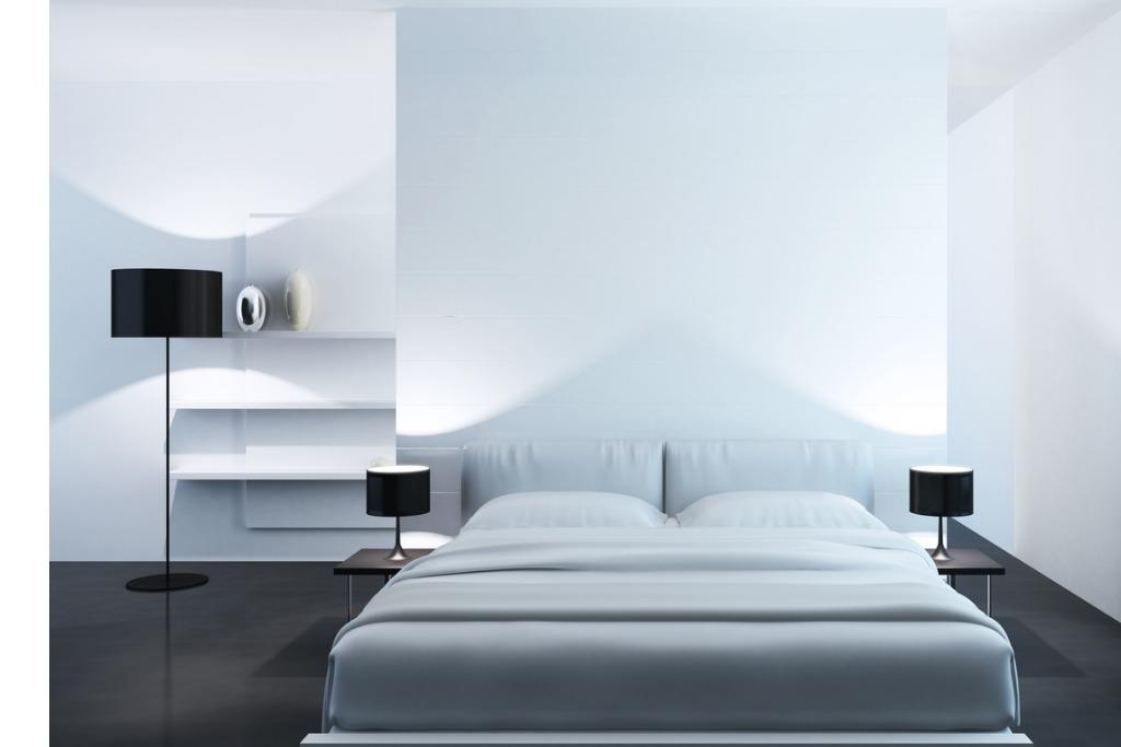 peinture blanche chambre