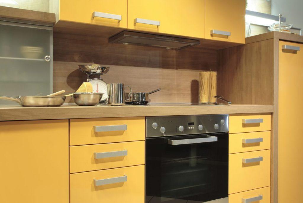peinture jaune cuisine