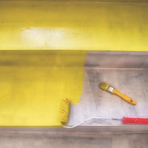 Peinture-escalier-bois