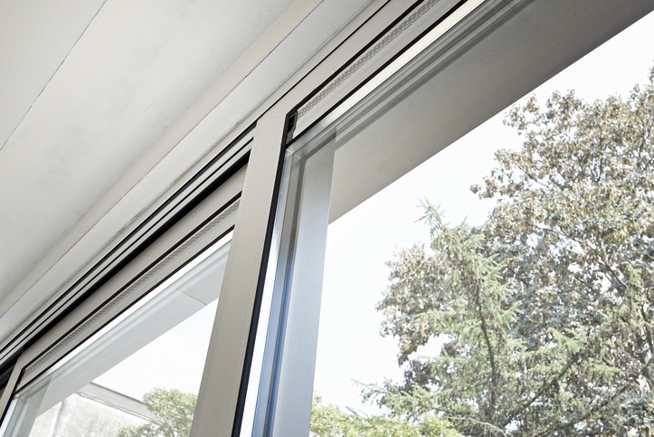 Une fenêtre en aluminium