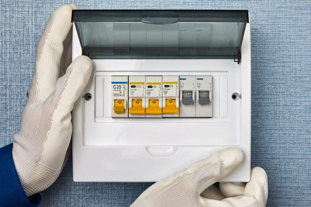 coffret electrique pour delesteur