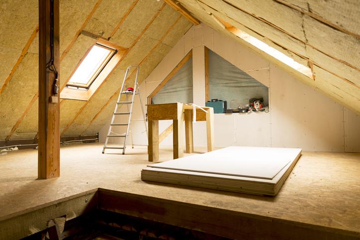 grenier combles toit