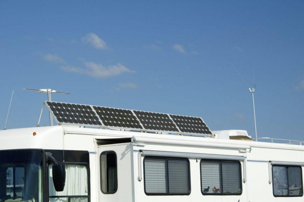 panneau solaire mobile home