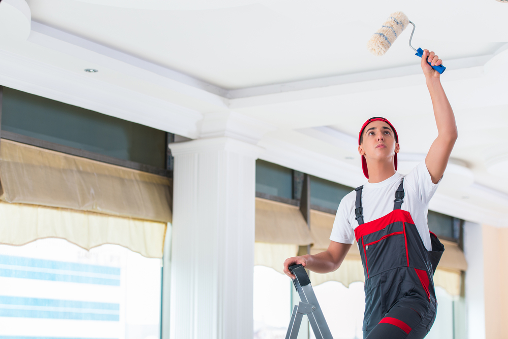 Quel type de peinture pour peindre votre plafond ?