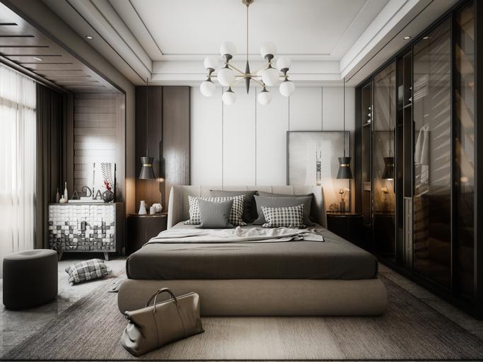suite parentale chambre coucher moderne