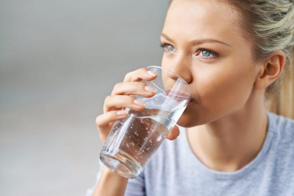 hydratation et eau adoucie