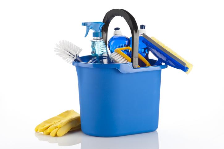 Matériel de nettoyage nécessaire