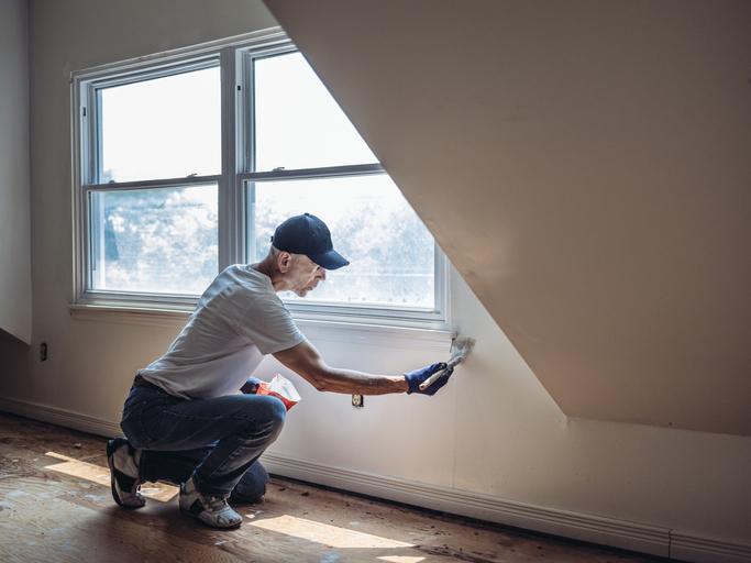 Un coup de peinture pour une maison comme neuve