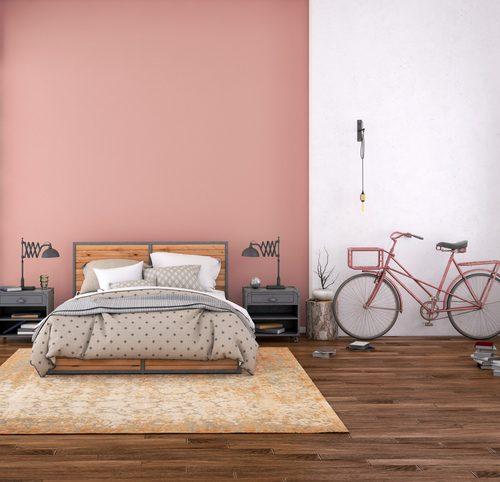 chambre rose velo