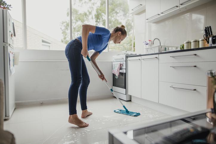 Nettoyage grès cérame