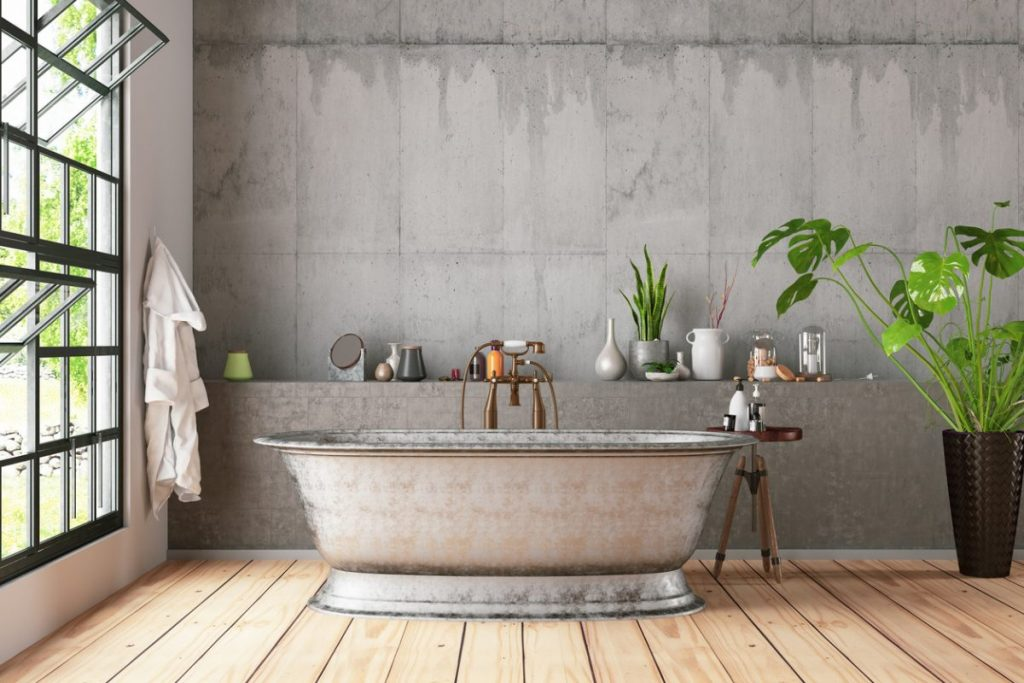 mur-beton-salle-de-bain-moderne
