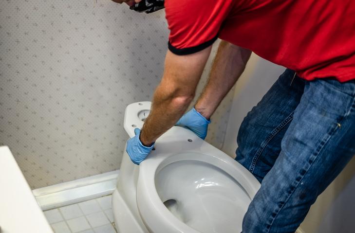 Un WC sans réservoir