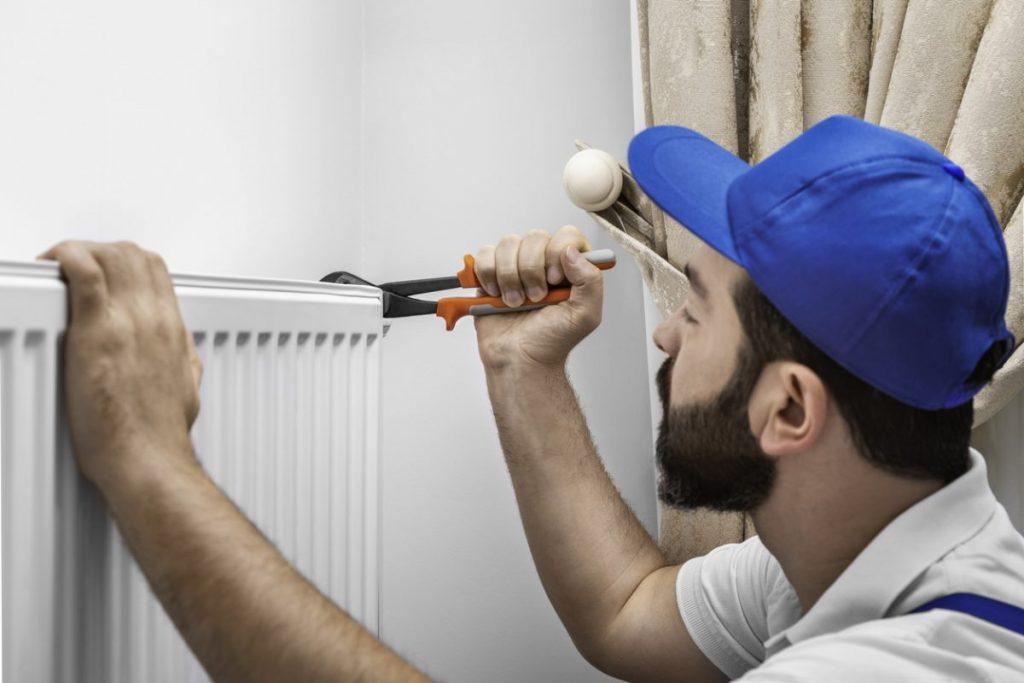 démonter radiateur en fonte