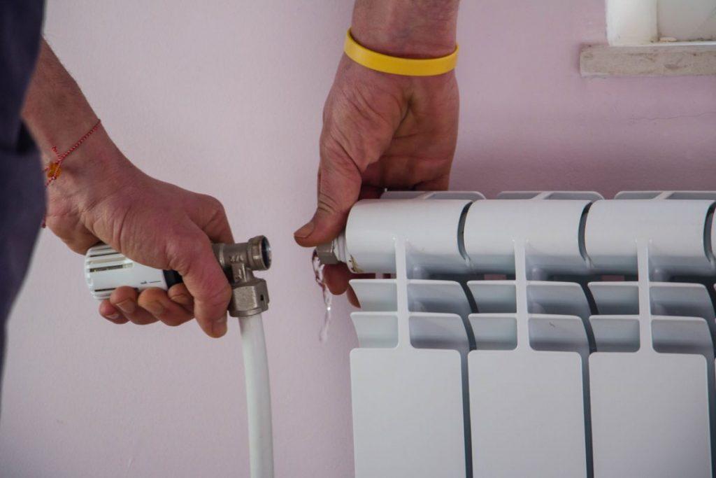 enlever radiateur fonte