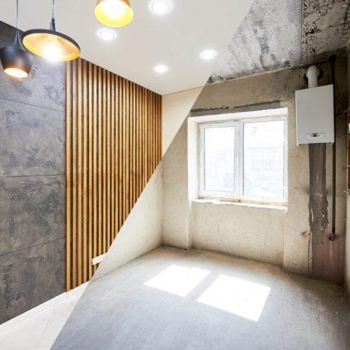 La rénovation d'une chambre en image