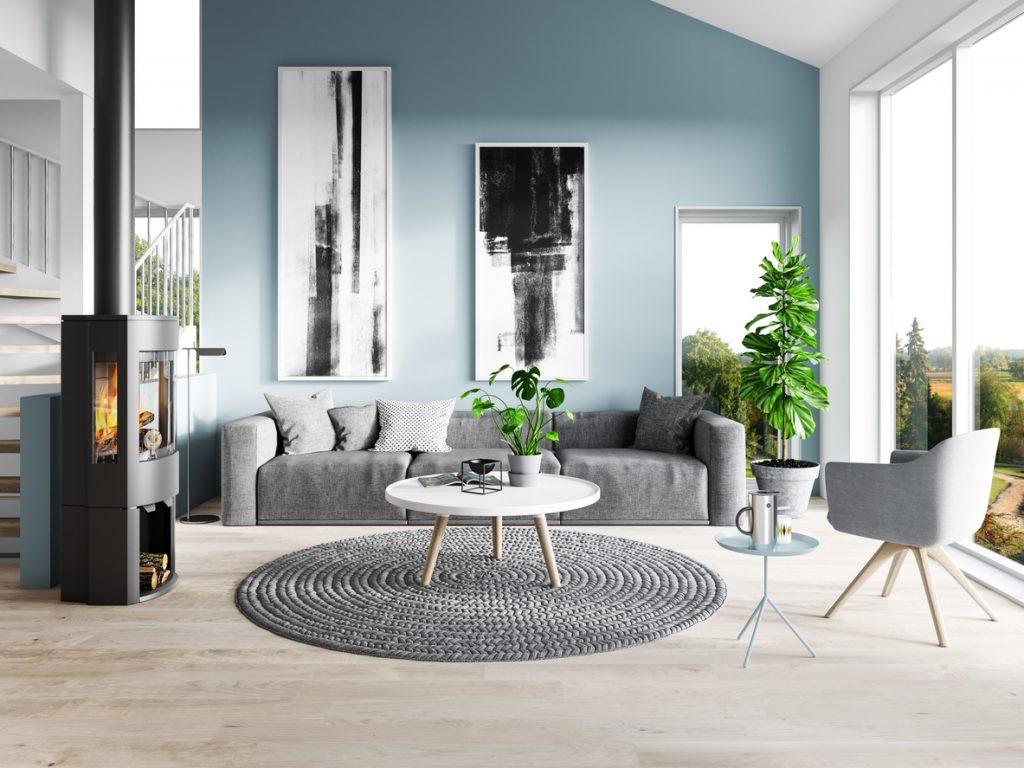 salon-moderne-et-contemporain-aux-murs-bleus