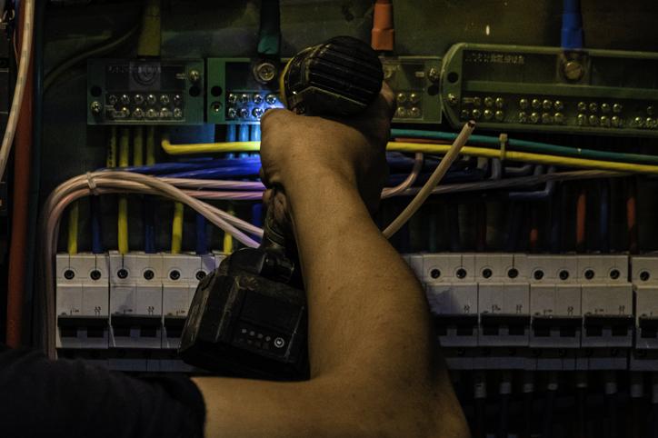 Installation d'une borne de recharge électrique