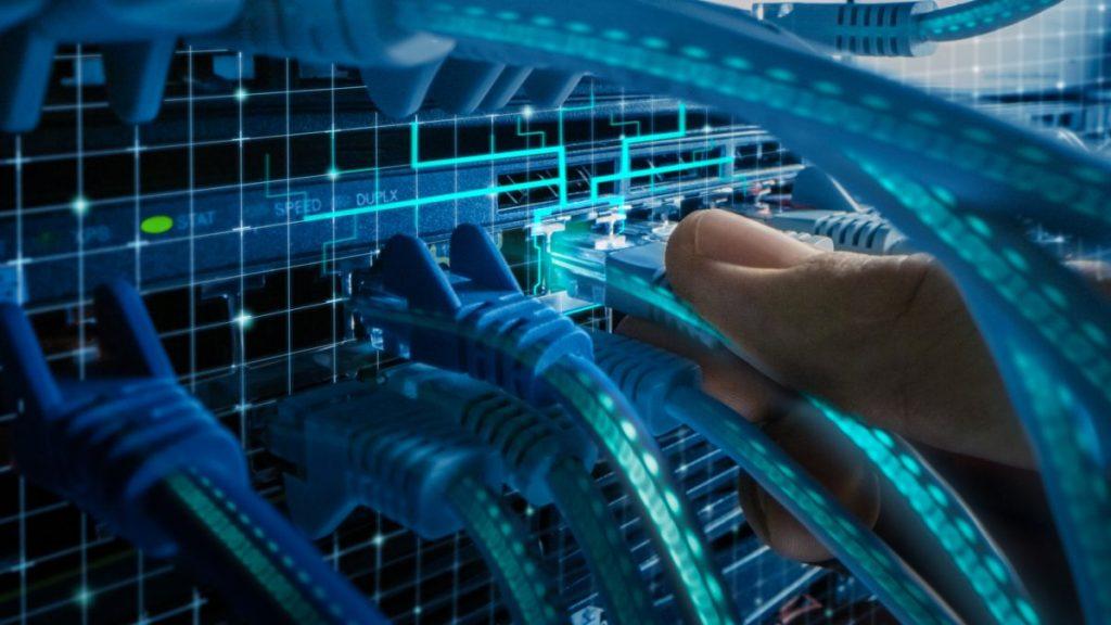 prise réseau boitier DTI