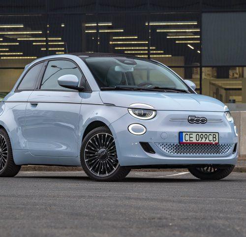 Fiat 500e fiche technique