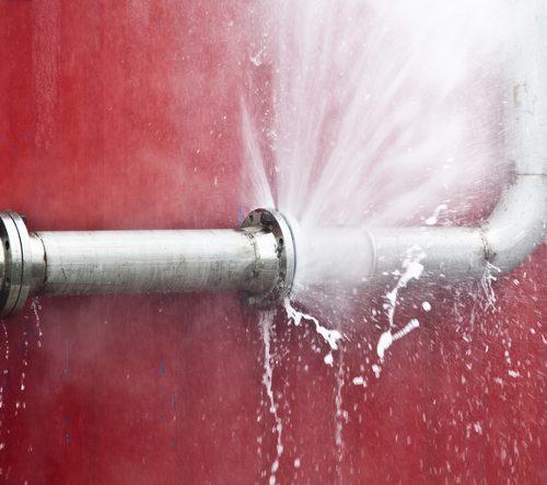 fuite eau massive