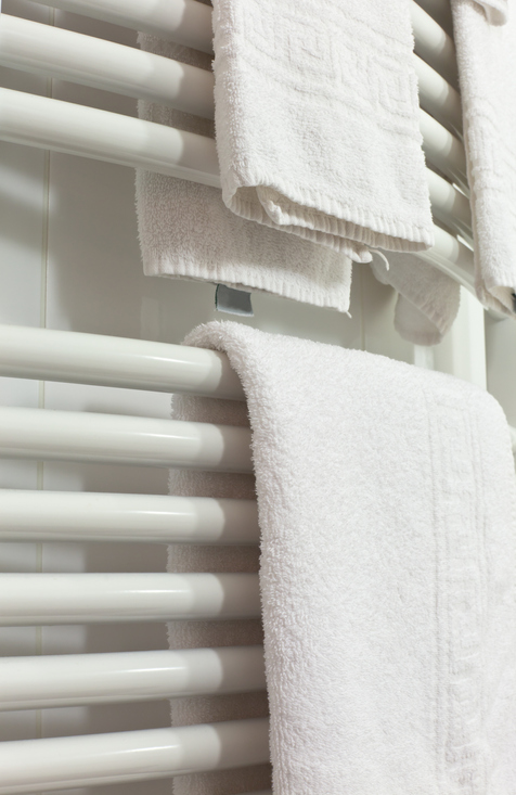 Un sèche-serviette électrique