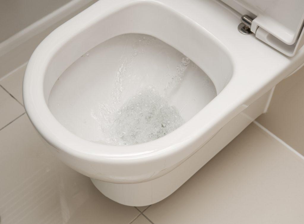 fuites d'eau wc