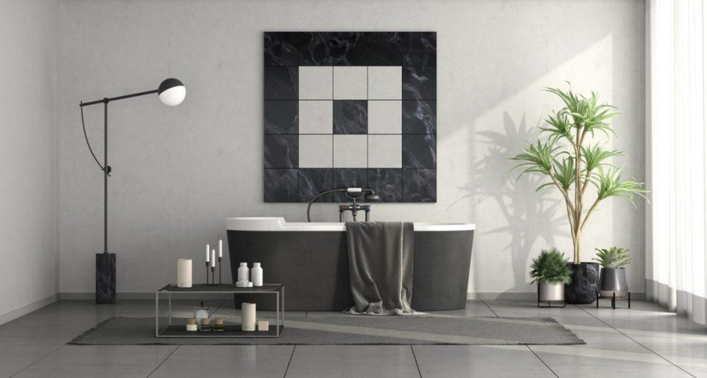 lampadaire salle de bain