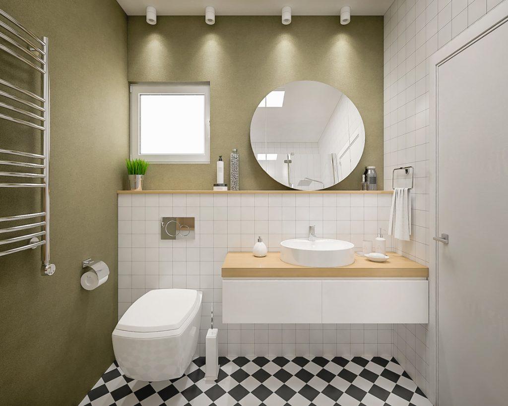 moquette salle de bain moderne