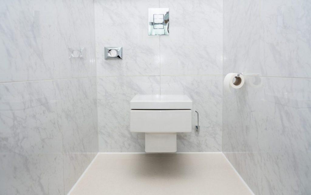 wc suspendu stopper bruit