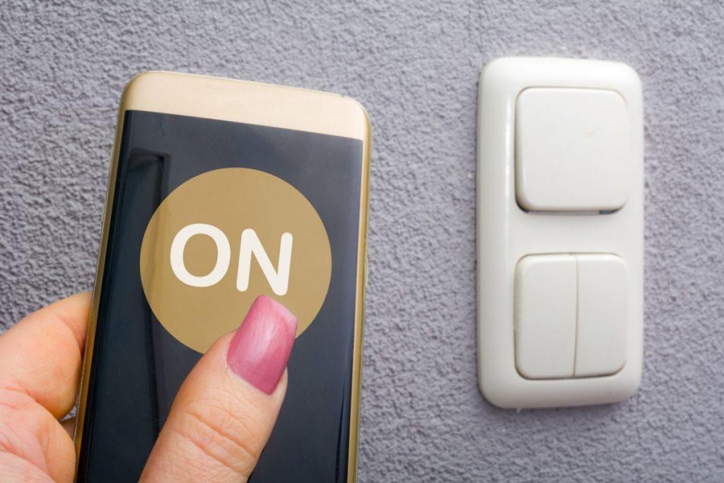 brancher interrupteur sans fil