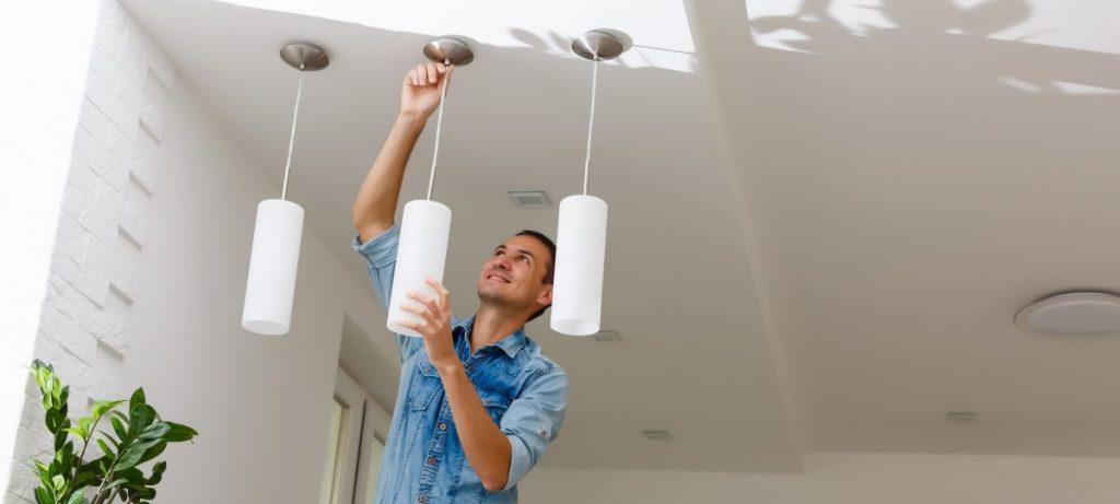 installation luminaire