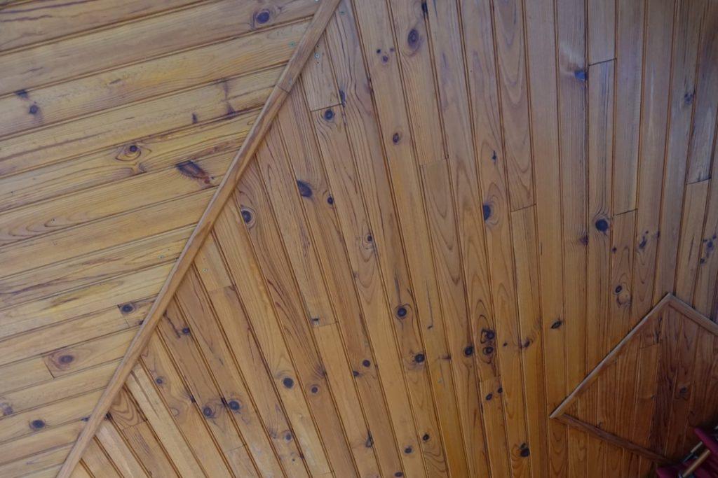 lambris bois décoration