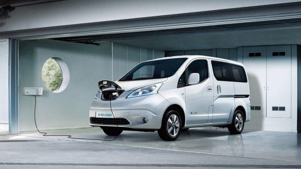 Comment recharger la Nissan e-NV200 ?