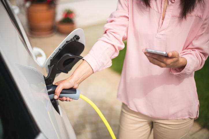 Comment recharger l'Audi Q7 TFSI e-tron à domicile ?