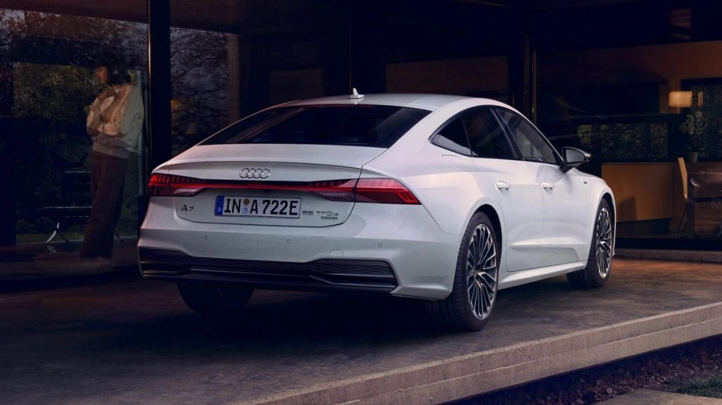 Comment recharger l'Audi A7 Sportback TFSI e-quattro ?