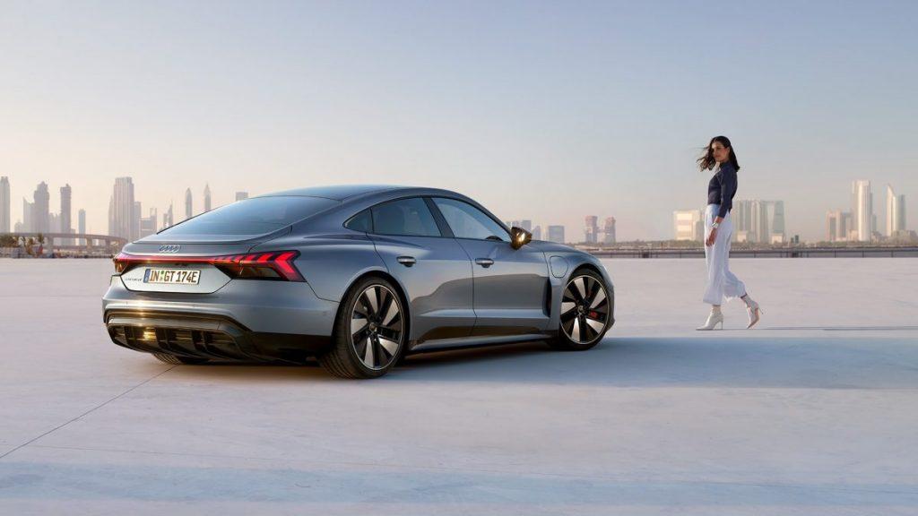 Comment recharger l'Audi e-tron GT ?