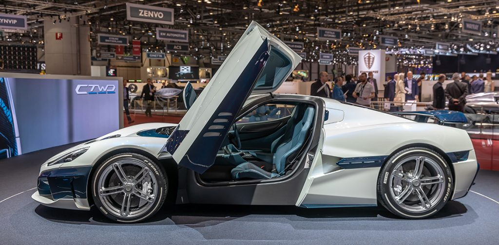 Rimac C Two, GIMS 2019